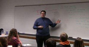 Brandon Sanderson Teaching